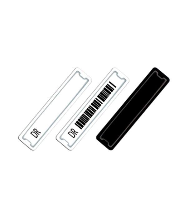 Etiquetas adhesivas DR código de barras